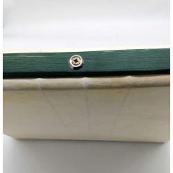 Pandeiro cadrado de 36 cm con bordón